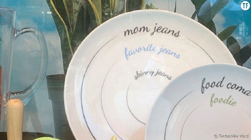 Les magasins Macy's retirent une assiette accusée de promouvoir l'anorexie