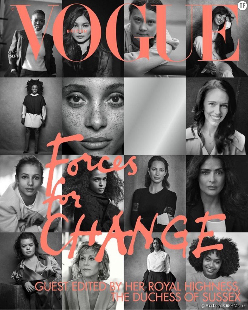 """Le numéro de septembre du """"Vogue"""" british est supervisé par Meghan Markle."""