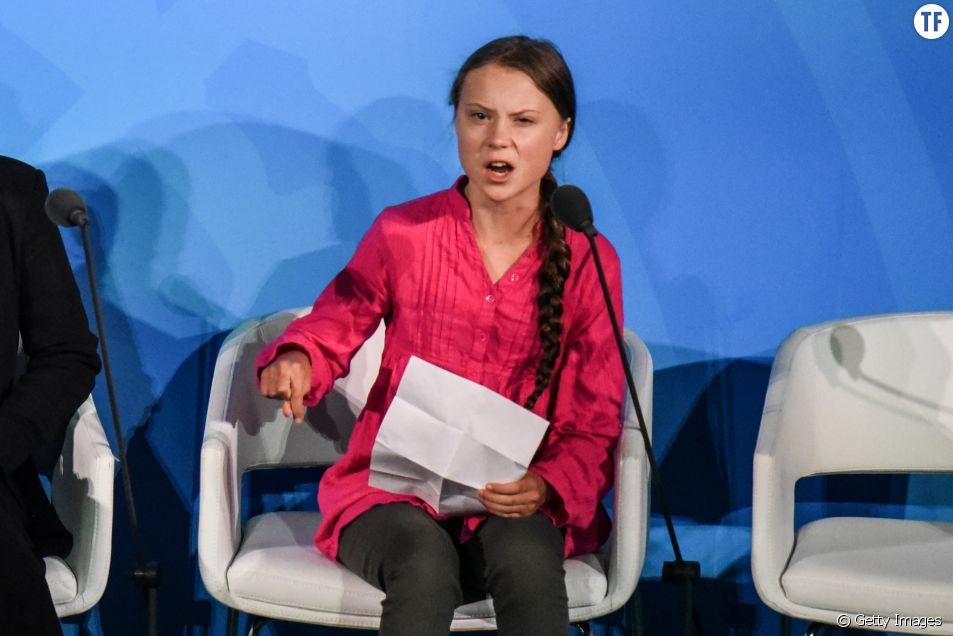 """""""Vous avez volé mon enfance"""" : le coup de gueule cinglant de Greta Thunberg à l'ONU"""