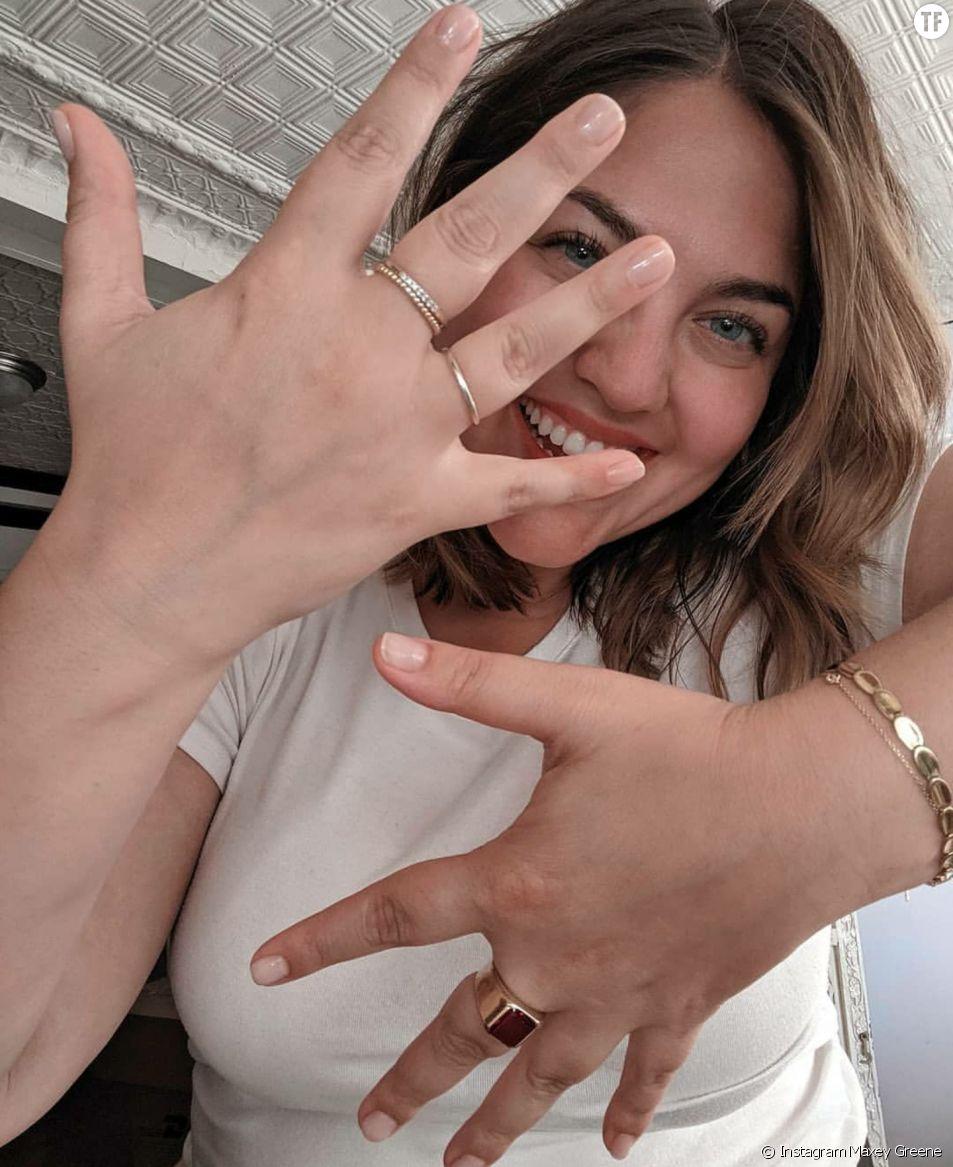 Maxey Greene, l'influenceuse à l'origine du hashtag #allhandsaregoodhands.
