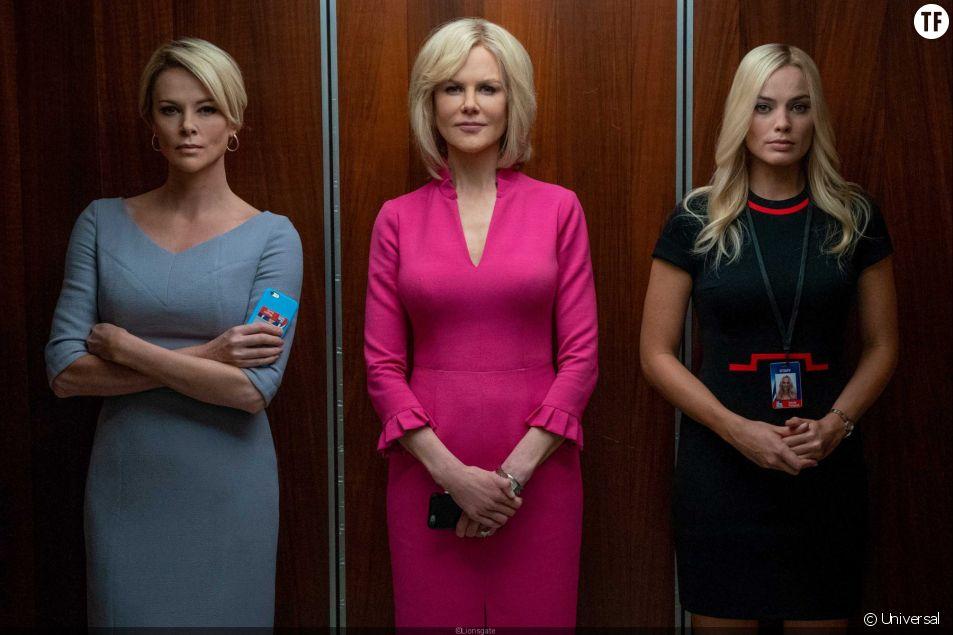 Les trois héroïnes du film Scandale