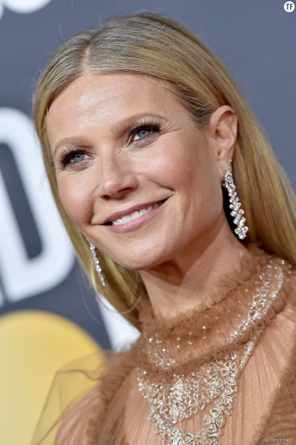 Gwyneth Paltrow aux Golden Globes le 5 janvier 2020