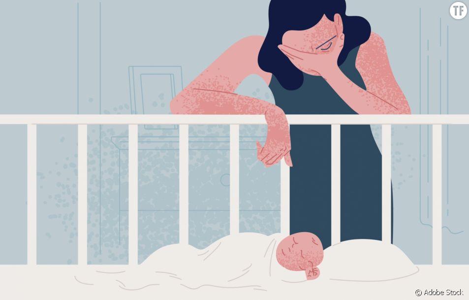 Elles témoignent des difficultés post-accouchement