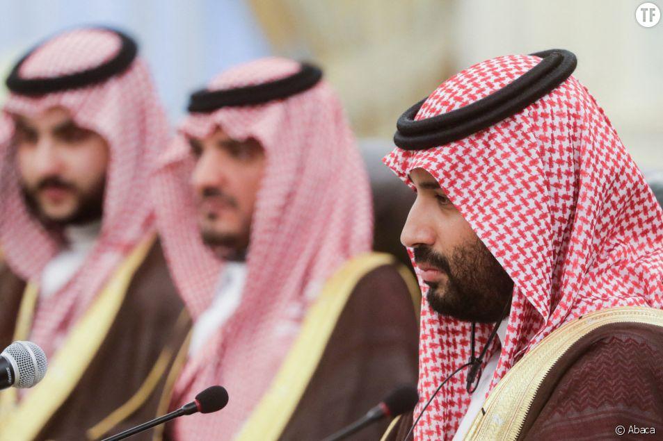 """Mohammad bin Salman met en avant les vertus féministes de sa """"Ligue""""."""