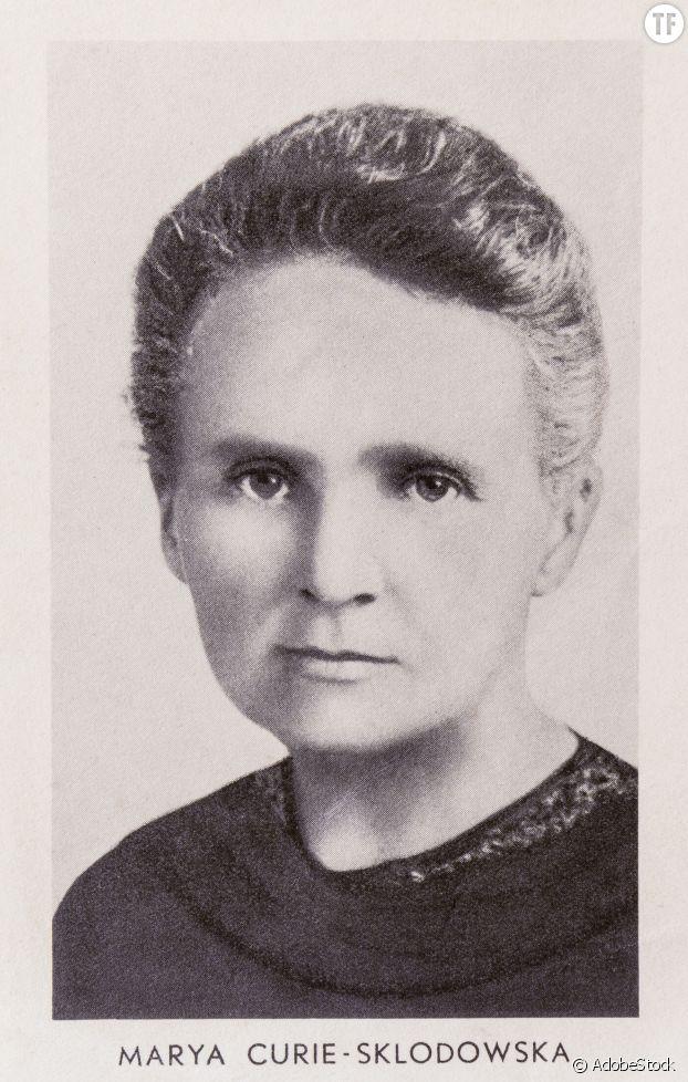 Marie Curie, icône des sciences.