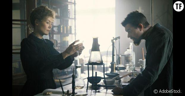 Pierre & Marie Curie, couple mythique.