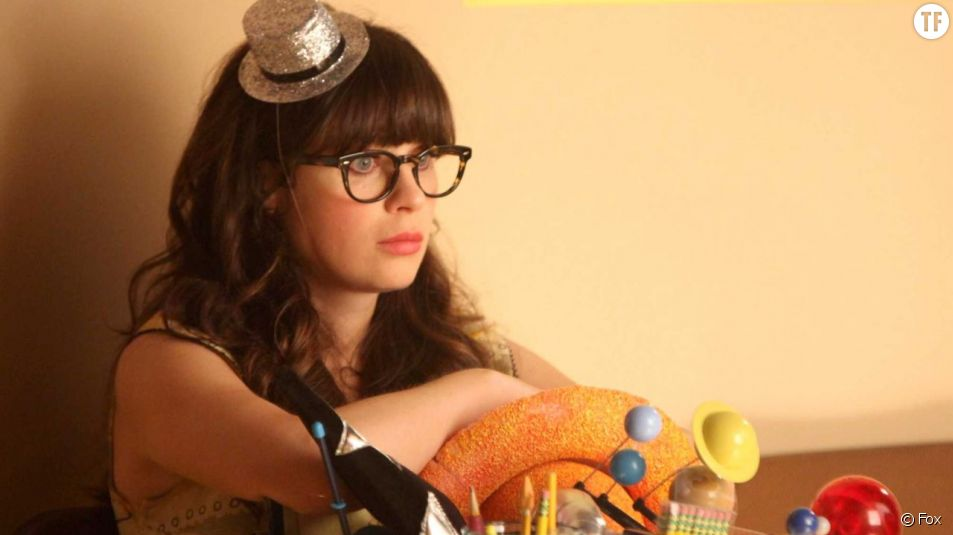 Jessica Day dans la série New Girl