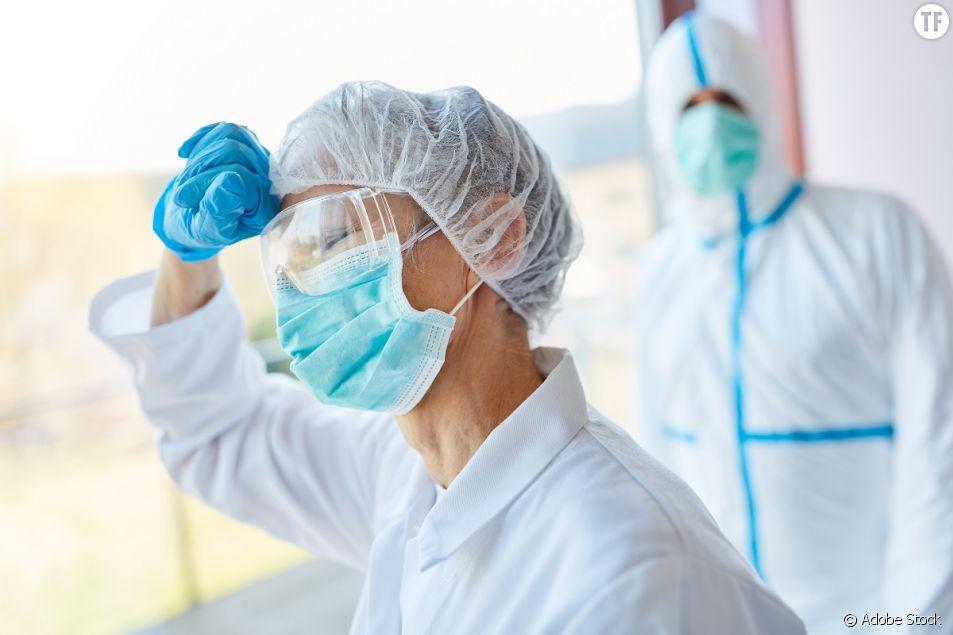 Les soignantes en première ligne durant la pandémie de coronavirus.