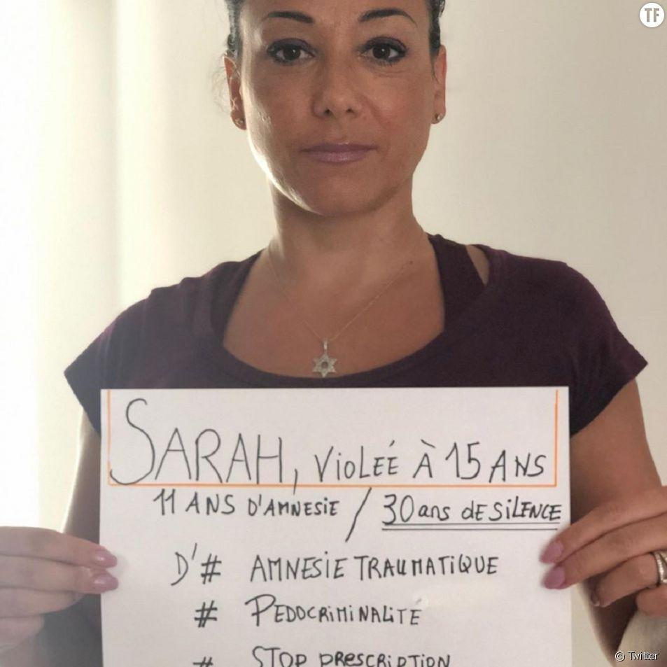Sarah Abitbol en appelle à l'entrée dans la loi de l'amnésie traumatique.