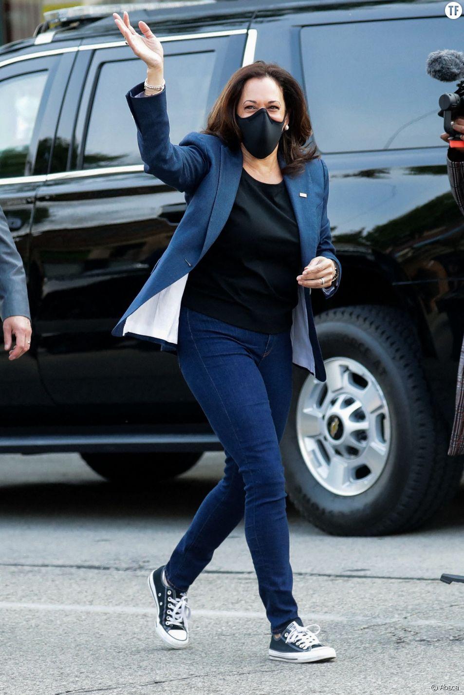 Kamala Harris, un style tout en détente.