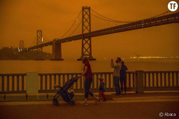 Les incendies à San Francisco en septembre 2020