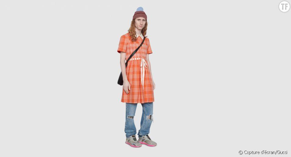 """Cette robe pour hommes vise à combattre """"les stéréotypes toxiques"""""""