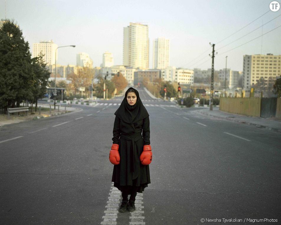 Newsha Tavakolian, Portrait de Negin à Téhéran, 2010