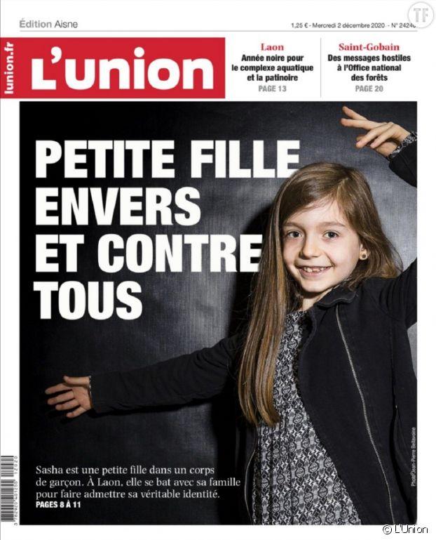 """Sasha, au coeur de """"Petite fille"""", émeut également la presse."""