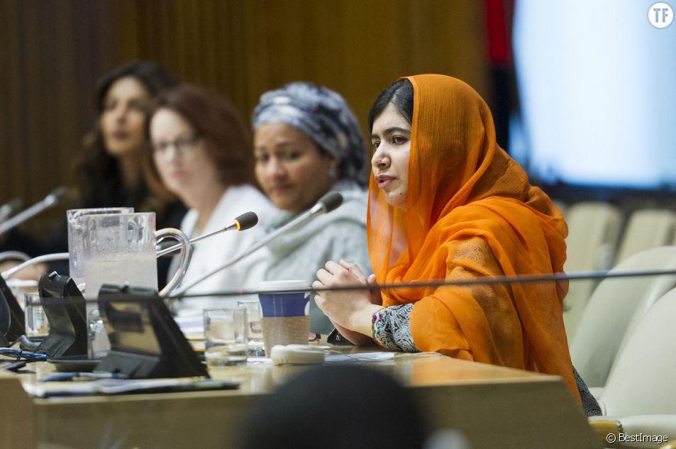 L'activiste des droits des femmes et des enfants Malala Yousafzai s'impose au Congrès américain.