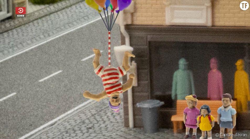 """Ce personnage de dessin animé au """"plus long zizi du monde"""" fait bondir le Danemark"""