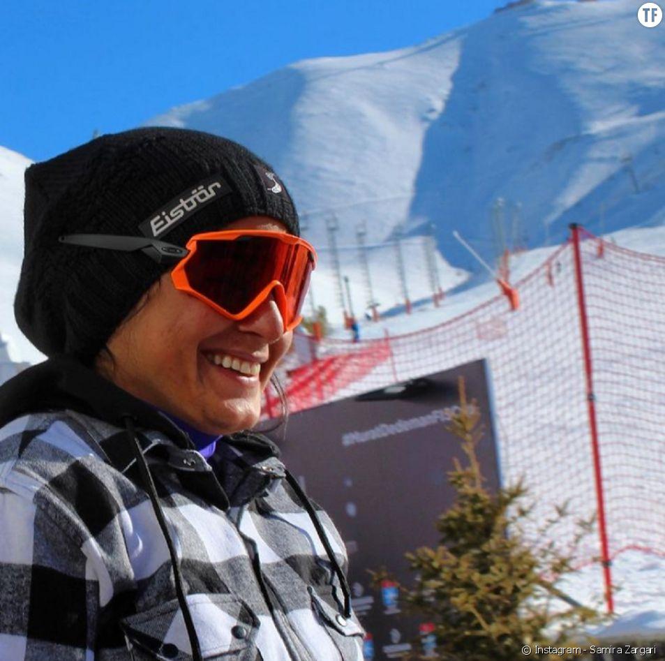 La coach de l'équipe féminine de ski d'Iran Samira Zargari bloquée au pays à cause de son ex mari.