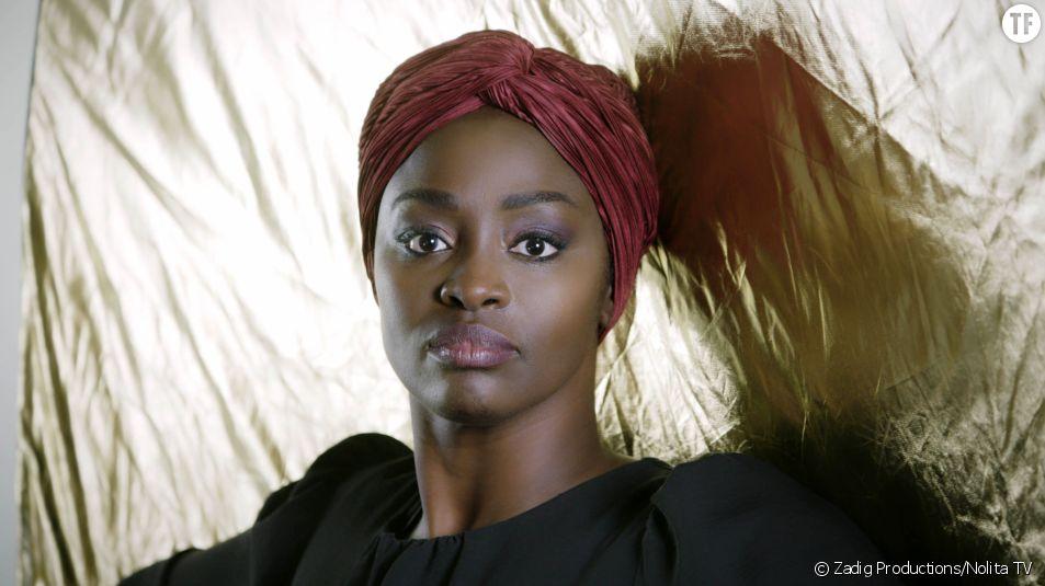 "L'actrice Aïssa Maïga, réalisatrice de ""Regard noir"""