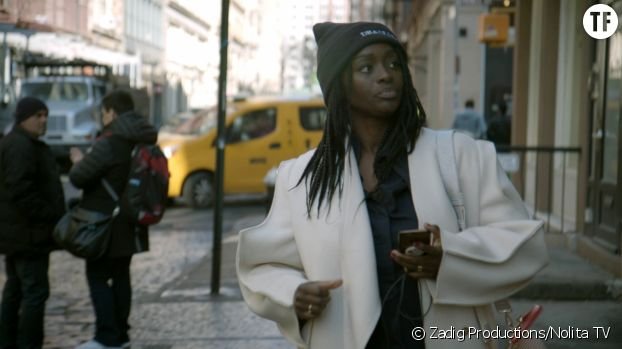 """Aïssa Maïga dans le documentaire """"Regard noir"""""""