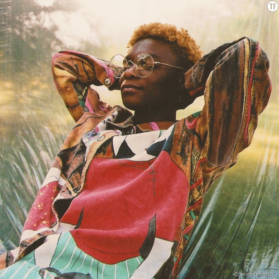 """Pochette de """"The Leo Sun Sets"""" de Serena Isioma, nouvelle icône non binaire du hip hop."""