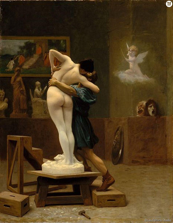 """""""Pygmalion et Galatea"""" de Jean-Léon Gérôme (1890)"""