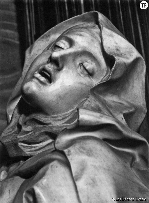 """Détail de """"L'Exstase de Sainte Thérèsee"""" de Gian Lorenzo Bernini (1652)"""