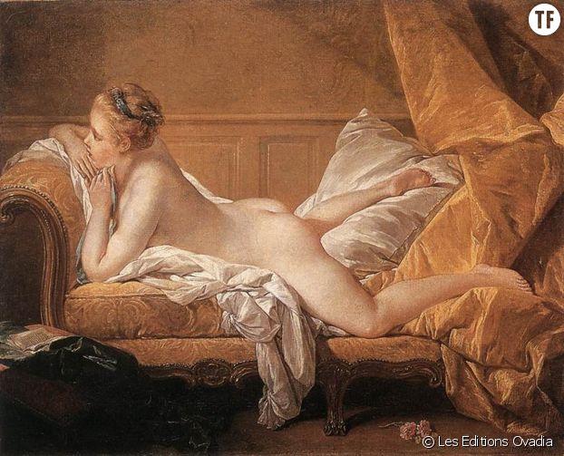 """""""L'Odalisque blonde"""" de Francois Boucher (1752)"""