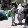 Les citoyens se précipitent chez eux après l'entrée des talibans à Kaboul, en Afghanistan, le dimanche 15 août 2021. Photo de Bashir Darwish/Abaca.
