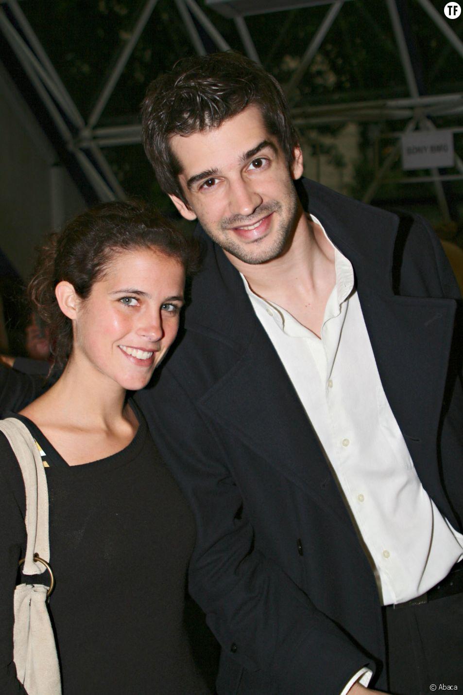 Clémence Castel et Mathieu Johann en mai 2007