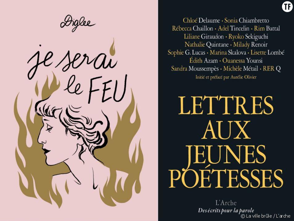 Deux flamboyants livres féministes pour dire la puissance des poétesses
