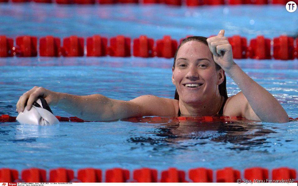 L'ex-nageuse de 25 ans avait forgé sa légende avec trois médailles décroché aux J.O. de Londres, en 2012.