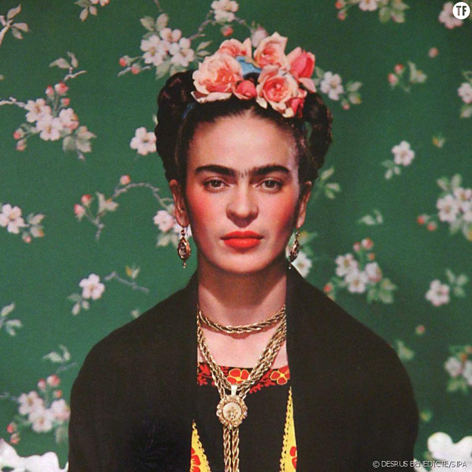 Le monosourcil le plus fameux du monde : celui de la peintre mexicaine Frida Kahlo (1907-1954)
