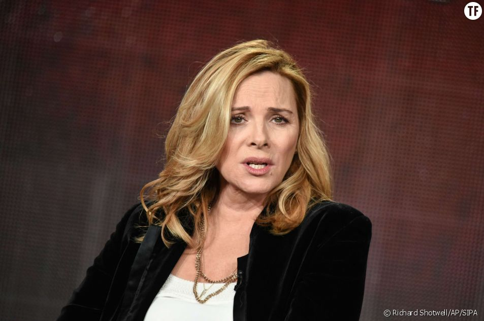 L'actrice Kim Cattrall le 20 janvier 2015
