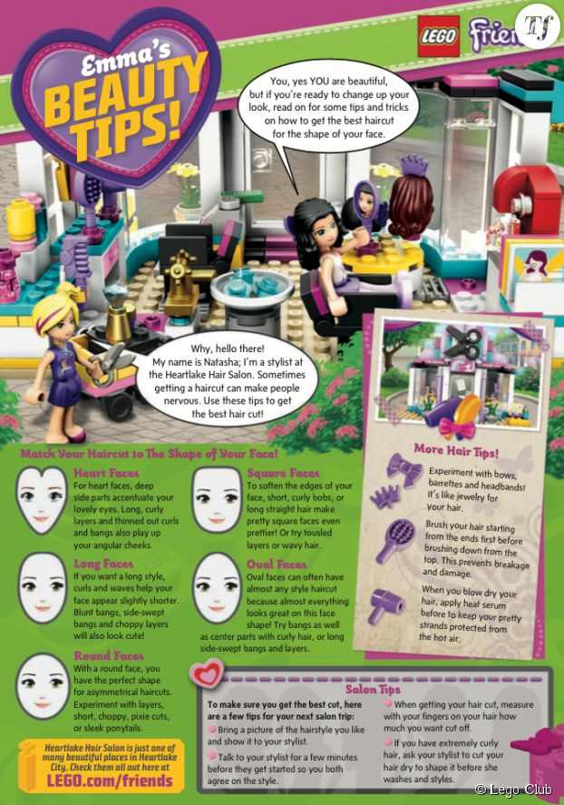 L'article paru dans Lego Club qui dérange les parents