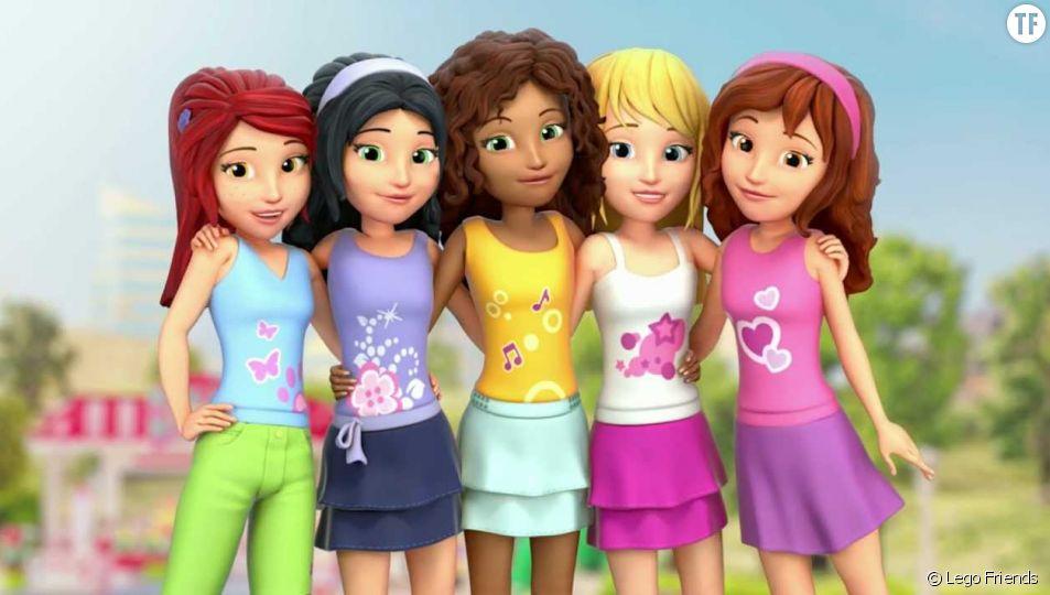 Lego fait polémique avec ses conseils beauté destinés aux petites filles