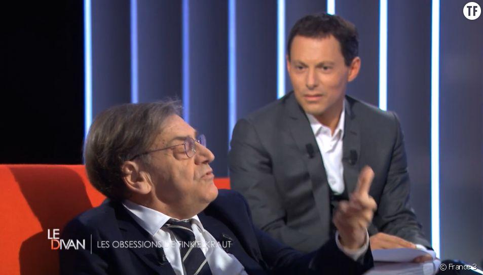 Alain Finkielkraut sur le divan de Marc-Olivier Fogiel