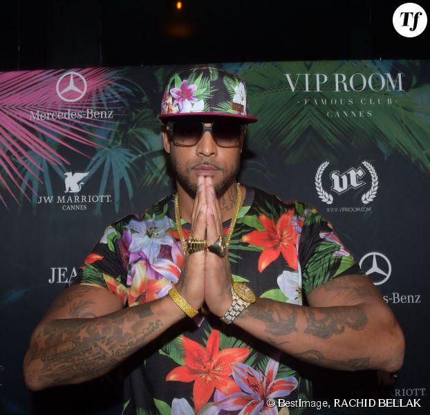 Concert de Booba au Vip Room de Cannes, le 19 mai 2014.