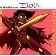 la guerrière de Ilolia.