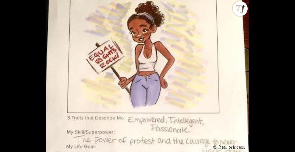 """L'une des """"Real princesses"""" défend les droits des femmes"""