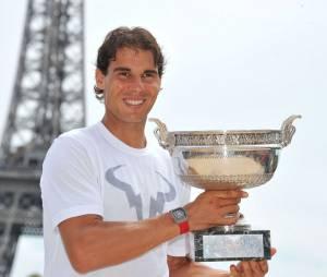 Rafael Nadal, gagnant de Roland Garros 2014.
