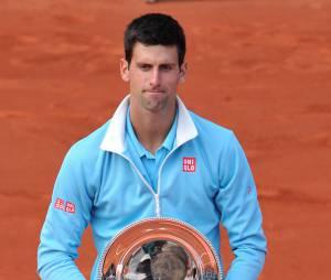 Novak Djokovic après sa défaite face à Rafael Nadal en 2014