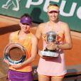 Maria Sharapova et Simona Halep, finalistes en 2014.