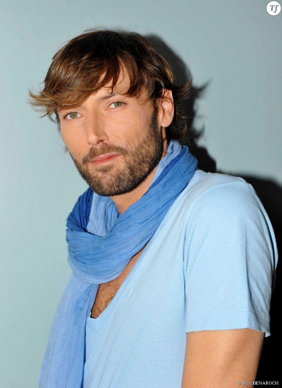 Laurent Kerusore lors de l'enregistrement d'une émission pour France 3 en 2010