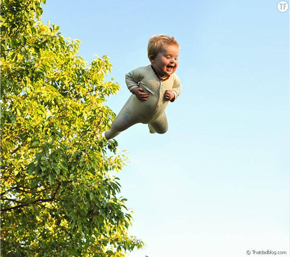 Alan Lawrence a imaginé une série de photos en hommage à son fils atteint du syndrome de la Trisomie 21.