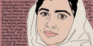 Cette illustratrice péruvienne célèbre les femmes qui changent le monde