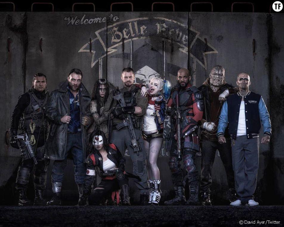 Suicide Squad : la première photo du casting complet du film