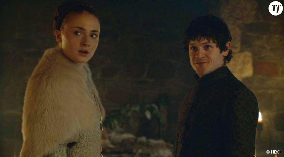 Sansa et Ramsay dans la saison 5 de Game of Thrones