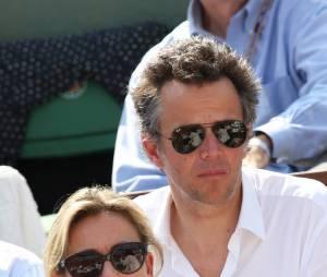 Anne-Sophie Lapix et Arthur Sadoun à Roland-Garros l'an dernier