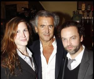 Justine Lévy avec BHL et Patrick Mille
