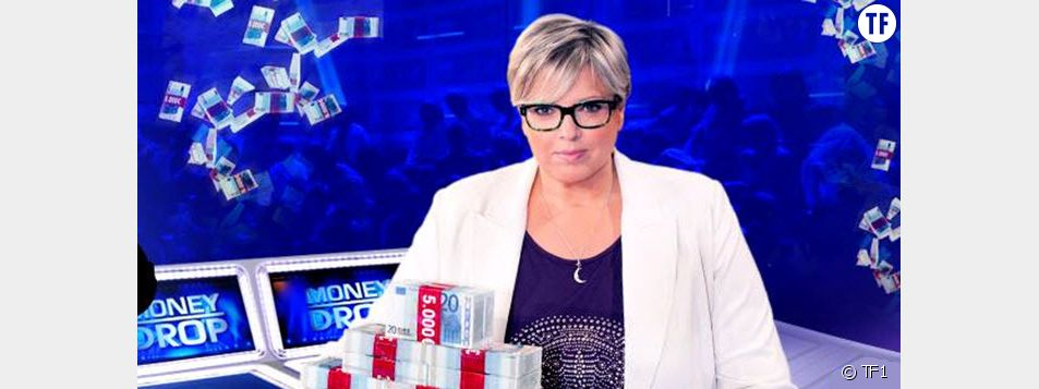 Laurence Boccolini, animatrice de Money Drop sur TF1